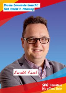 Ewald Kiesl