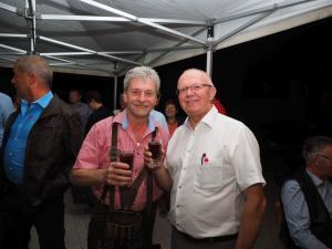 Gastwirt Wolfgang Fuchs und Obmann der SPÖ GGR Gerhard Stoiber