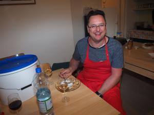Palatschinken für den Koch
