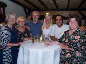 LAbg. Karin Scheele, Bgm. Daniel Pongratz (Pottenstein) und Gäste