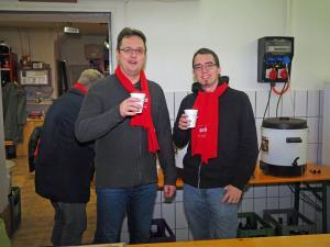SPÖ Obmann Stv. Ewald Kiesl und GR Thomas Rupprecht