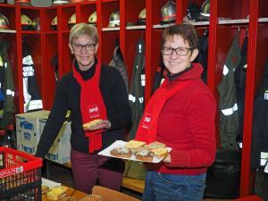Gerlinde Haiden und GR Sabine Büchsenmeister