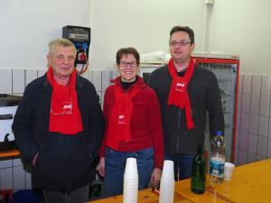 Heinz Stoiber, GR Sabine Büchsenmeister, Ewald Kiesl