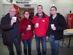 GGR Gerhard Stoiber, GR Sabine Büchsenmeister, FF-Kommandant Roman Retzl und GR Thomas Rupprecht