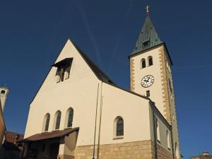Station 1 - Pfarrkirche St. Margareta in Grillenberg