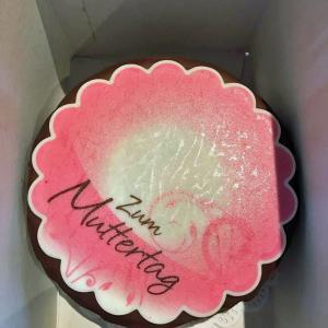 Ein hausgebackener Kuchen für jede Mutter