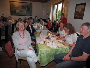 LAbg. Mag. Karin Scheele mit Gästen