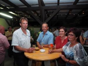 Ehem. GR Josef Schießl mit Gattin und Freunden