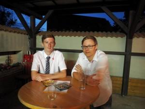 Benni und Mathias