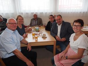 GGR Gerhard Stoiber, LAbg. Karin Scheele, GR Thomas Rupprecht, NRAbg. Andreas Kollross und GR Sabine Büchsenmeister