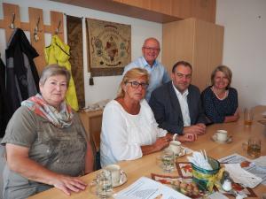 Ex-Bgm. Gisela Strobl, GGR Gerhard Stoiber NRAbg. Andreas Kollross und LAbg. Karin Scheele