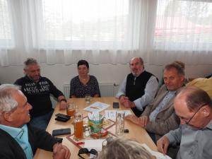 GGR Hubert Karl mit Gattin und Gäste