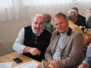 Ferry Simlinger und Fritz Schaffer