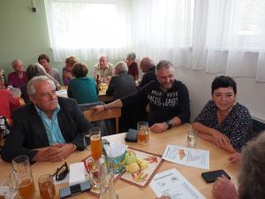 Gorki, GGR Hubert Karl mit Gattin