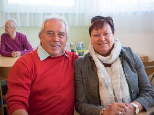 Gorki und Helga Stoiber