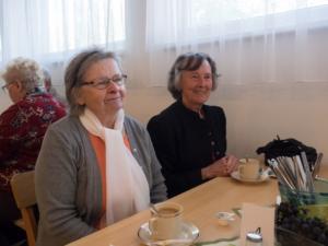 Annemarie Hess und Friederike Retzel