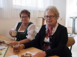Emma Büchsenmeister und Josefa Garherr