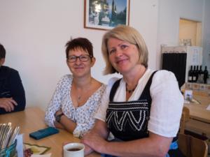 GR Sabine Büchsenmeister und LAbg. Karin Scheele