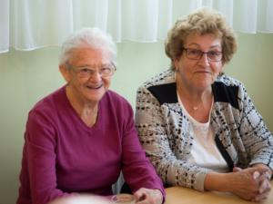 Frieda Stoiber und Romana Soukup