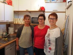 Küchenpersonal: GR Erika Ponleitner, Gabriele Wöhrer, Sabine Büchsenmeister