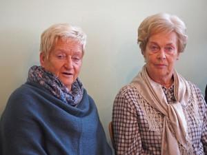 Obfrau des Pensionistenverbandes Traude Hoffer und Ingrid Zbornik