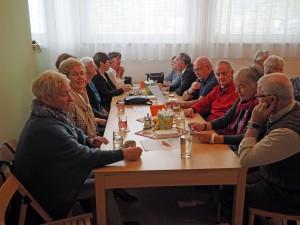 Gäste vom Pensionistenverband Berndorf