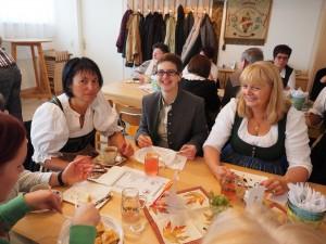 GGR Michaela Postl, VBgm. Michaela Schneidhofer und GR Karin Wöhrer