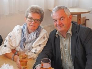 Ingrid Herzog und Christian Goldhahn aus Berndorf