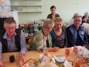 Gäste aus Berndorf mit GR Günther Bader (rechts)