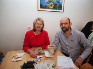 LAbg. Karin Scheele und GR Max Brandstätter aus Lindabrunn
