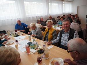 Treue Gäste vom Pensionistenverband Berndorf
