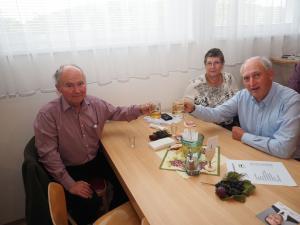 Ex-GGR Rudolf Schießl und Gäste